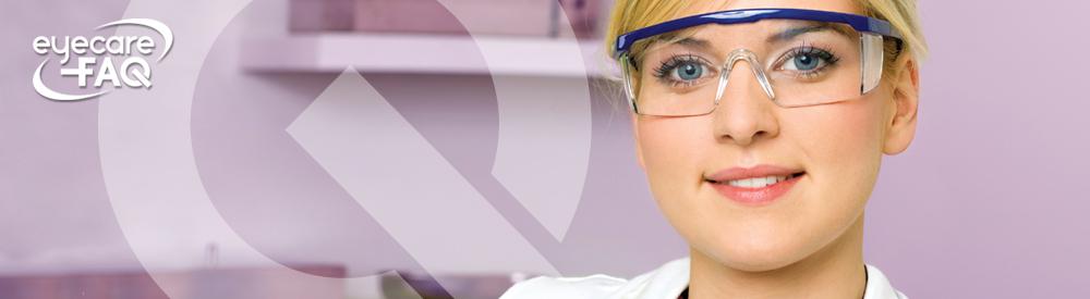 Protective eyewear infographic
