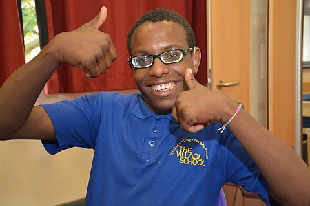 Nathaniel, pupil at The Village School