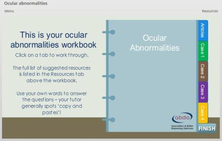 OA workbook screenshot