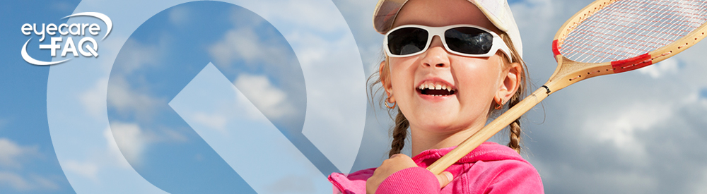 Sports eyewear for kids