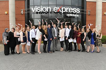 Class of 2016 Vision Express Apprenitice Graduation at Vision Express HQ.