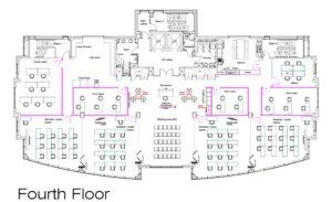 fourth floor - NRC floor plan