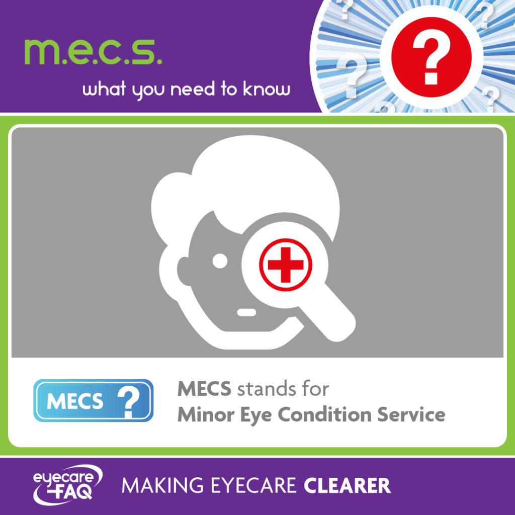 Minor eye condition service