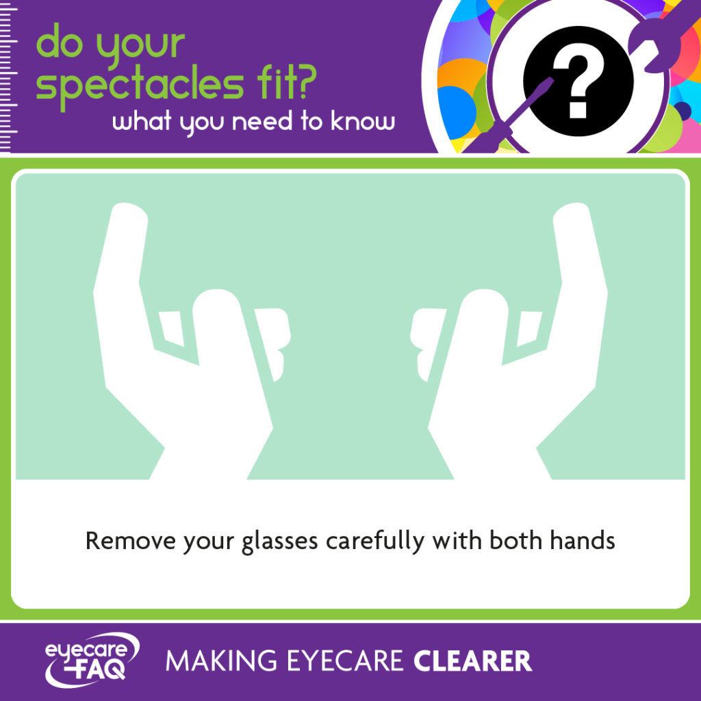 looking after your glasses