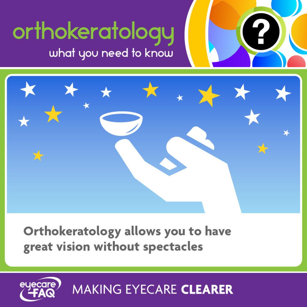 Orthokeratology