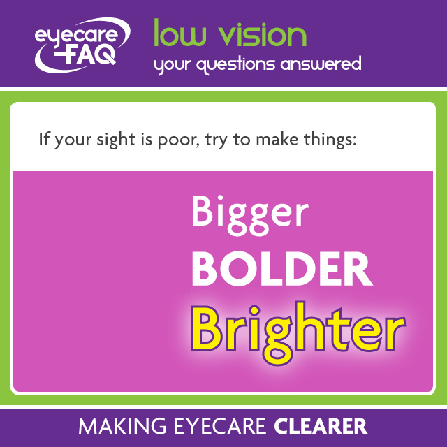 Low Vision what you need to know from eyecareFAQ