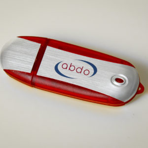 USB with ABDO logo