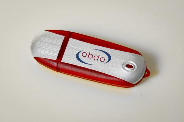 USB with ABDO logo